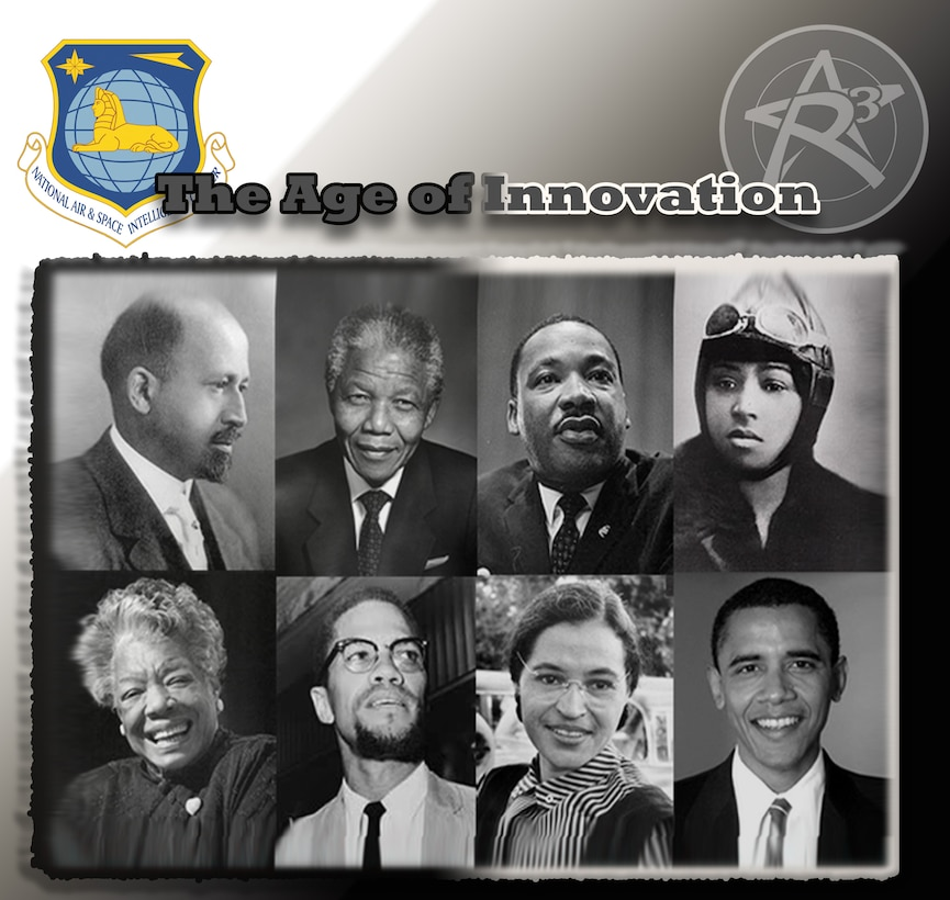 """The Age of Innovation"" (U.S. Air Force Graphic by Senior Airman Michael Hunsaker)"