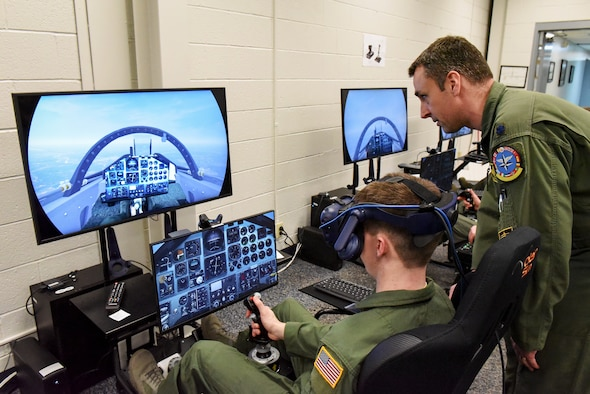 80th FTW Innovation Lab incorporates mixed reality into pilot training