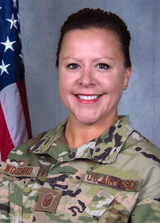 Master Sgt. Tara Woodard, 445th Force Support Squadron personnel systems manager, currently deployed with the 386th Expeditionary Force Support Squadron PERSCO (Personnel Support for Contingency Operations) as the Air Force liaison officer section chief, was selected as the November 2018 Senior NCO of the Month and was part of the U.S. Air Forces Central Command Liaison Office Team that was selected for the November 2018 Team of the Month Award.