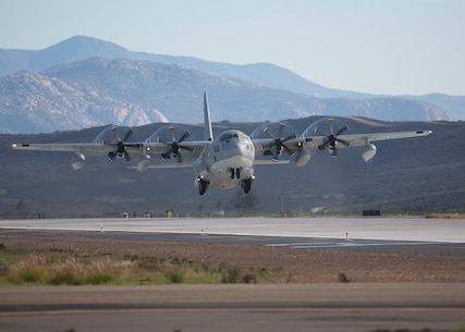 MAG-11 Marines take to the sky in massive aircraft launch