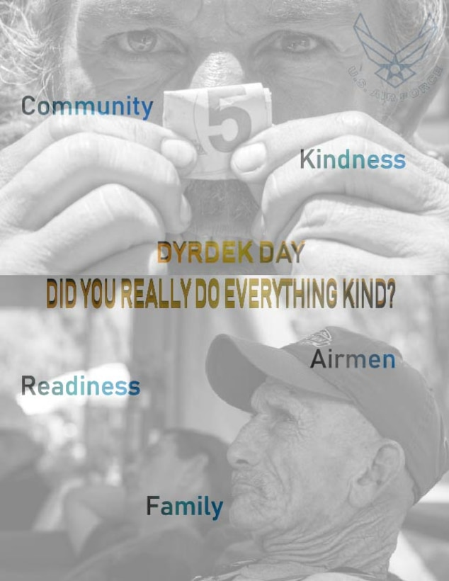 In the Air Force it is highly encouraged to volunteer and help the local community, including the homeless as much as possible.