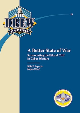 Book Cover - A Better State of War: Surmounting the Ethical Cliff in Cyber Warfare
