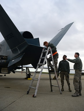 Transition doesn't stop 69th Maintenance Squadron Detachment 1 mission