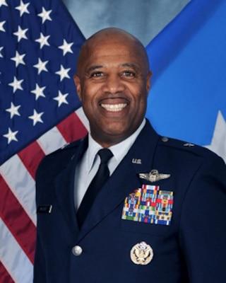 "Official photo of Brig. Gen. Christopher ""Mookie"" Walker. (U.S. Air National Guard photo by Senior Master Sgt. Emily Beightol-Deyerle)"
