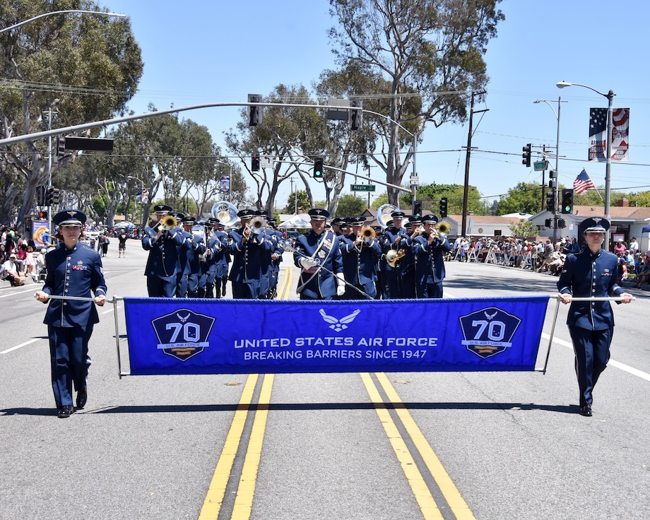 Band of the Golden West Armed Forces Day Parade