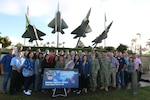 DLA Troop Support Indo-Pacific Summit attendees pose for a picture at Joint Base Pearl Harbor-Hickam Jan 31, 2019. DLA Troop Support Indo-Pacific held their Theater Sustainment Plan Summit to build relationships, collaborate and plan for future operations, and featured a couple town halls at Joint Base Pearl Harbor-Hickam Jan. 28 to Feb. 1. Courtesy Photo.