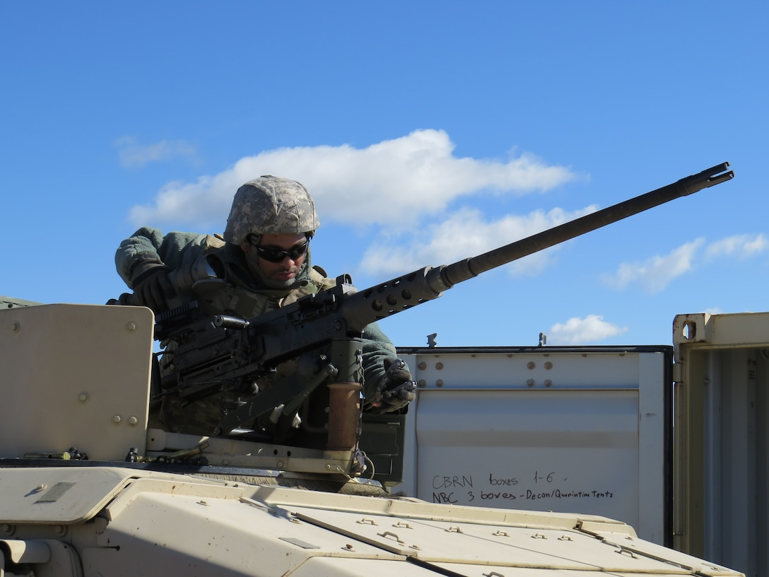Learning and lethal: Army Reserve Soldiers shoot gunnery at Operation Cold Steel III