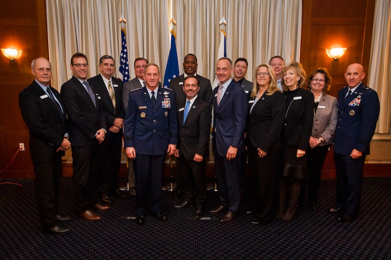 New civic leaders inducted into the Air Force