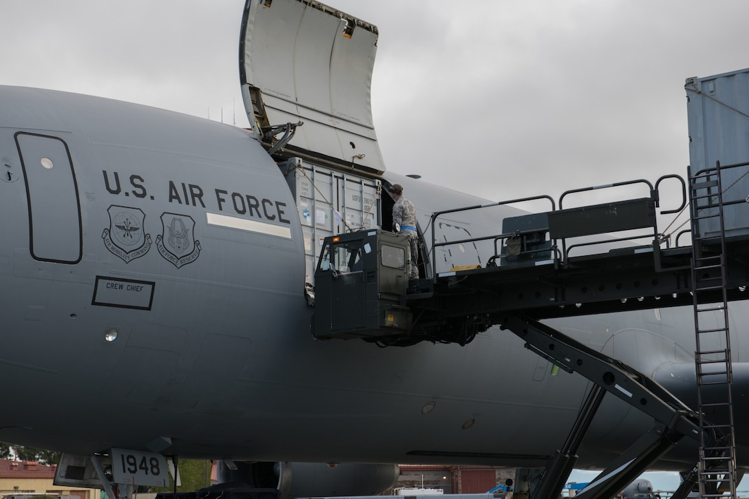 KC-10 adds new load capability