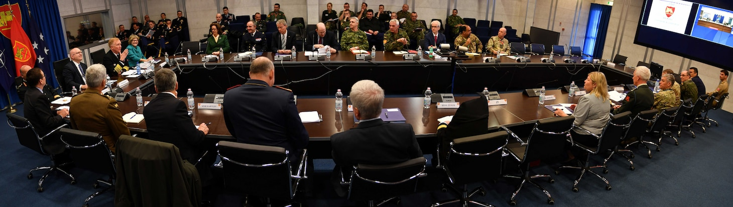 A Balkans Conference was hosted at Allied Joint Force Command Naples, Jan. 19, 2018. NATO Balkans experts, leaders from U.S. European Command and six U.S. Ambassadors participated in the event.