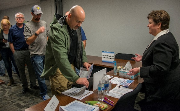 The Huntington District's Operations and Readiness Division, along with the Regional Rivers Repair Fleet, Huntington Contracting Branch, Safety and Occupational Health, Office of Small Business Programs, Small Business Administration Region II, and the WV National Guard, conducted an Open House to allow contractors and potential contractors an opportunity to exchange information for the purposes of Market Research and Networking.