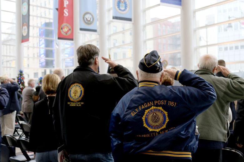 98th honored at War Memorial in New York
