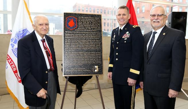 98th honored at War Memorial in New York