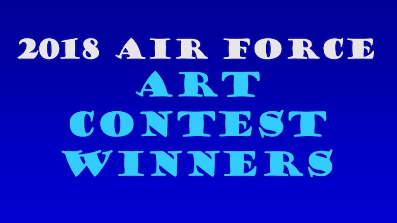 Congratulations to the 2019 Air Force Art Contest winners. (U.S. Air Force graphic)