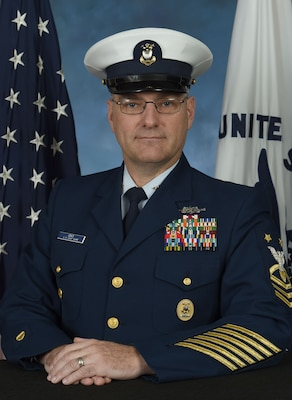 Photo of Command Master Chief Edward Lewis