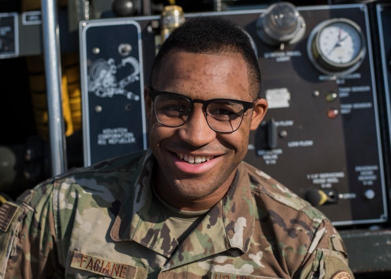 Happy Titan Tuesday! Today's #TalentedTitan is Senior Airman Blane Faciane.