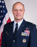Official Air Force photo for Col. Robert I. Kinney. Kinney is the commander of the 188th Wing, Arkansas Air National Guard. (U.S. Air National Guard photo by Tech. Sgt. John E. Hillier)