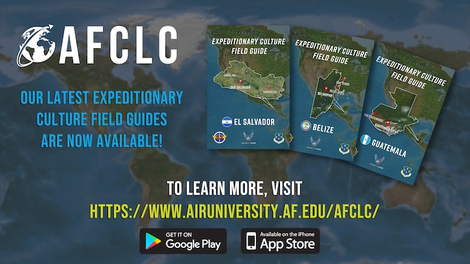 Three South American countries added to AFCLC's field guide inventory