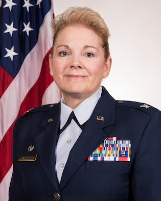 Official Air Force photo for Col. Mary T. Gardner. Gardner is the commander of the 188th Mission Support Group for the Arkansas Air National Guard's 188th Wing in Fort Smith, Ark. (U.S. Air National Guard photo by Tech. Sgt. John E. Hillier)