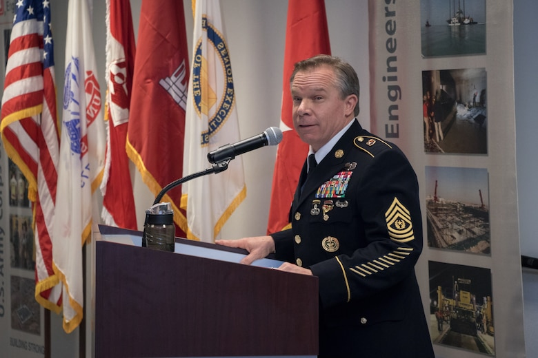 After 32 years of service to the nation, Command Sgt. Maj. Etter retires