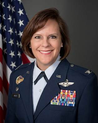 Col. Allison Miller, Commander 179th Airlift Wing Mansfield Ohio