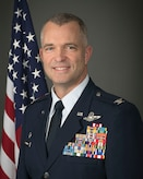 Portrait photo of Col. Darren Hamilton 179th Airlift Wing (AW) Operations Group Commander.