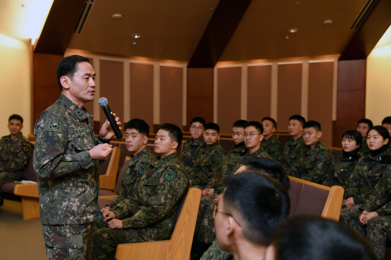 Korean Cadets Learn Combined Operations with 2ID/ROK-U.S. Combined Division