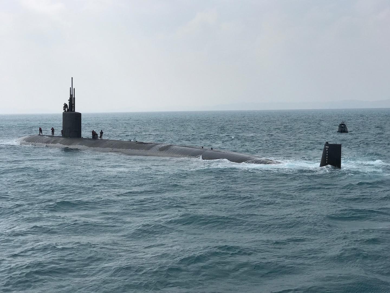 US Submarine Participates in Japan MSDF Submarine Competition