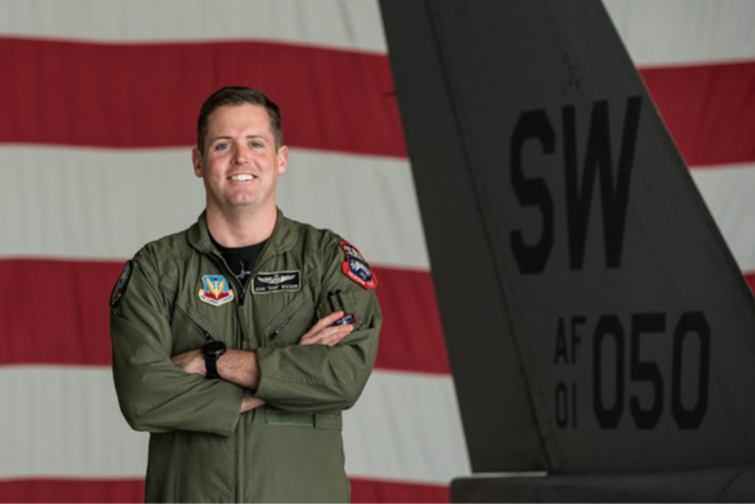 Maj. John Waters is the United States Air Force F-16 Viper Demonstration Team commander and pilot based at Shaw Air Force Base, South Carolina. As the F-16 Viper Demonstration Team commander, he is responsible for representing Air Combat Command, the United States Air Force, the Defense Department, and the United States of America at more than 20 air shows annually.