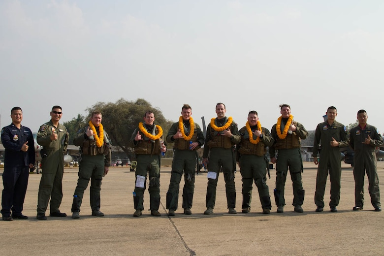 35th FS Pantons Launch Into Cobra Gold 19, Historic Redeployment to Thai Base