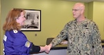 Distribution's Saxton receives commander's coin