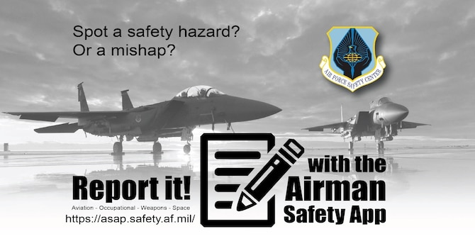 Air Force safety application