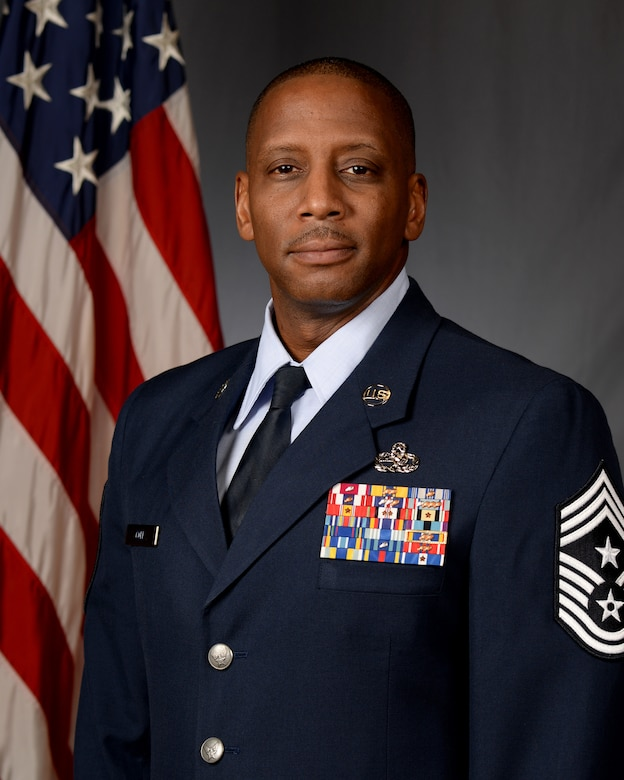 Chief Master Sgt. Michael Cole's Official Photo