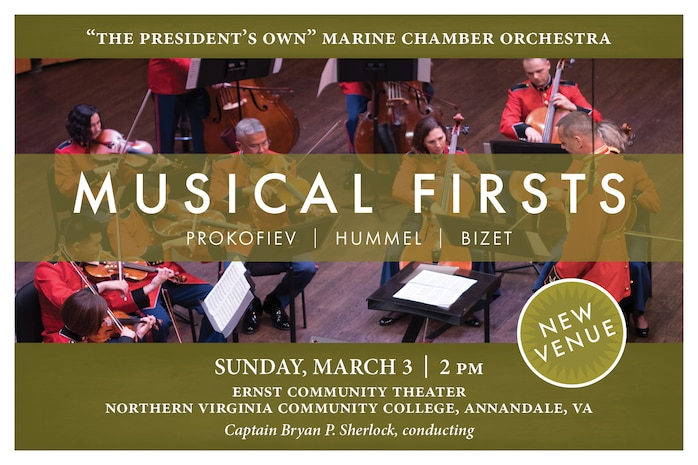 Marine Chamber Orchestra: Musical Firsts