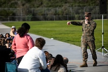 Letting the dogs out: MCAS Miramar brings K9 Unit to Dingeman Elementary School