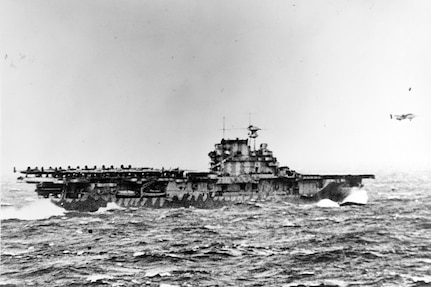 Final Resting Place of USS Hornet CV-8 Located in South Pacific