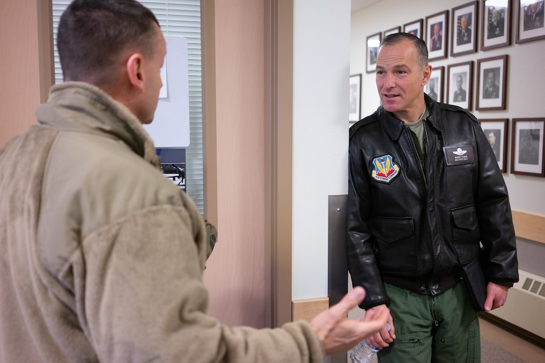 Air Combat Command visits 176th Wing