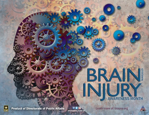 The month of March is dedicated to brain injury awareness and prevention.