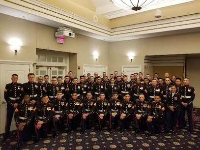 Security Battalion hosted there first Command Sponsored Cpls Course of the year. Pictures here is Class 612-19 prior to Mess Night.