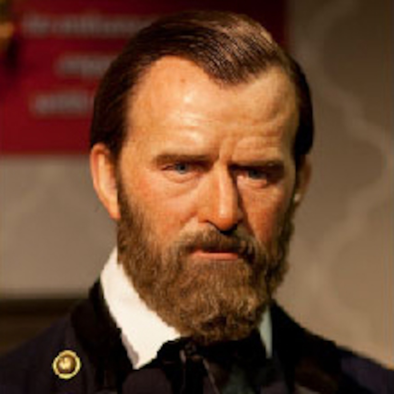A graphic of Army Gen. Ulysses S. Grant