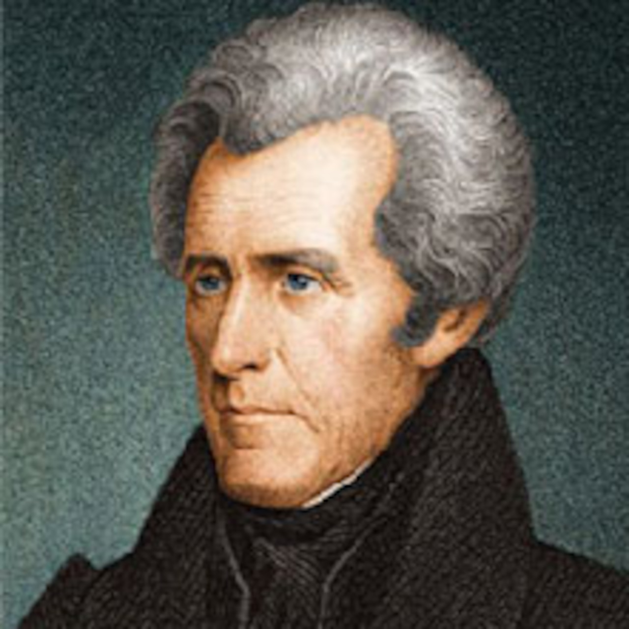 A graphic of Army Gen. Andrew Jackson