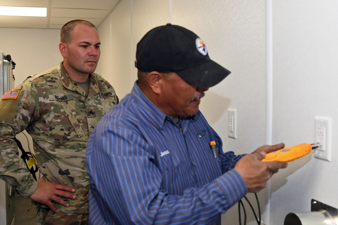 210th RSG special projects, facilities support Fort Bliss mobilization station