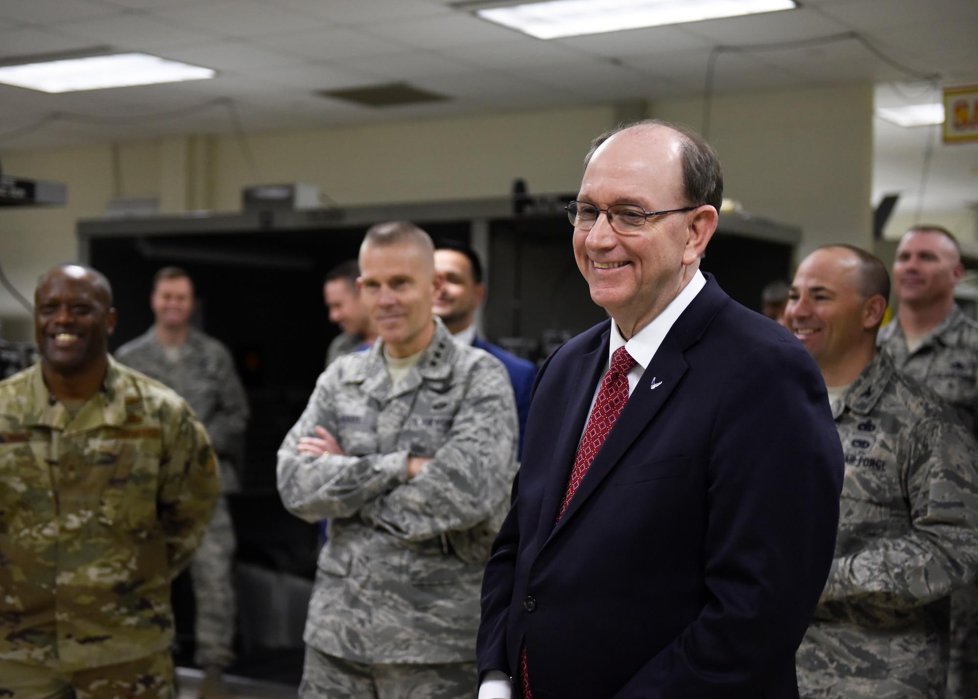 USecAF visits Sheppard Air Force Base, Texas