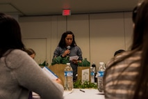 During the symposium, spouses were taught how to face the adversities that come with being a military spouse.