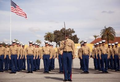 Congratulations to the new Marines of Alpha Company for officially graduating from recruit training, Feb 1.