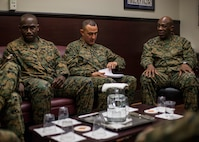Continue the Attack: Sgt. Maj. Green addresses senior enlisted