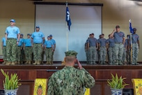 Civil Action Team Palau Holds Change of Charge Ceremony
