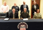 Endurance and perseverance are both characteristics of outstanding athletes. On Jan. 18, 2019, Armed Forces Sports – the program that serves between 800-1000 U.S. military athletes annually – showed its endurance and perseverance as an organization by conducting its 300th council meeting. Pictured from left to right: (Back Row) Mr. Jim Medley (USMC Sports); Mr. James Senn (Navy Sports); Mr. Steven Dinote (Armed Forces Sports Coucil Secretariat); Ms. Kristen McManus (OSD); (Seated) Mr. Kenneth Hedgecock (USMC Sports); Mr. Edward Cannon (SES) (Council Chairman); Col Caryn Kirkpatrick (USAF Representative).  Not pictured, but attending via teleconference:  (Mr. Paul Burk (SES) - Army; Mr. Darrell Manuel (Army Sports); Mr. John Patten (Army BRD); Mr. Steven Rosso (Legal Advisor); Mr. Steve Brown (USAF Sports); CW)3 Mark Durning (USCG Sports)