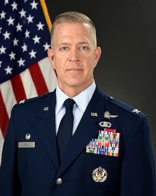 Colonel Richard R. Neely official photo