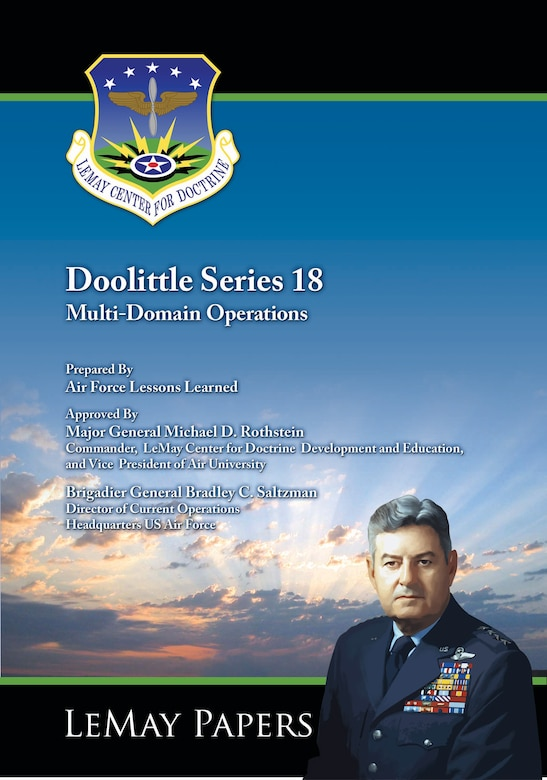 Book Cover - Doolittle Series 18: Multi-Domain Operations